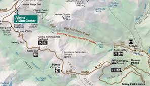 Estes Park Colorado Map Old Fall River Road In Rocky Mountain National Park My Rocky