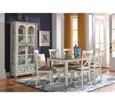 oak wood back ladder dining chairs pottery barn dining room tables donovan 5 pc dining set badcock more your dining space just got more exciting with t