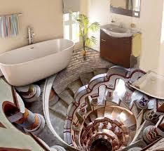 unique bathroom designs dwell of decor 3d glossy epoxy flooring for unique bathroom designs