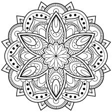 ▷ 1001 dessins de mandala à imprimer et à colorer