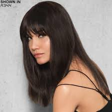 clip in fringe clip in human hair fringe hair by hairdo get yours at