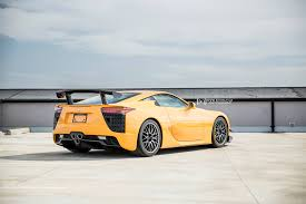 lexus lfa orange lexus lfa nurburgring edition arrives in canada gtspirit