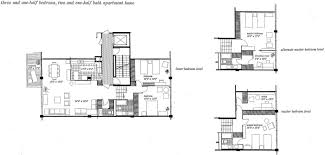wilmette condo floor plans lake michigan view