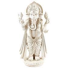freestanding ivory colour ganesh ornament co uk kitchen