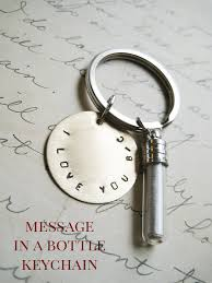 diy message in a bottle message in a bottle jewelry or keychain
