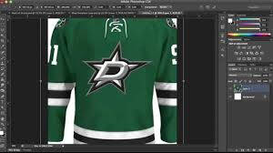 hockey templates for photoshop hockey jersey template tutorial part 3 youtube