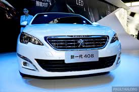 used peugeot 408 new peugeot 408 sedan unveiled at auto china 2014 image 244071