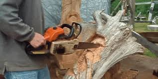 6 jaw dropping wood sculptures carved with a chainsaw