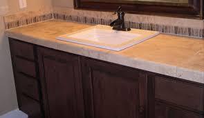 gorgeous tile bathroom countertops tiled bathroom countertops