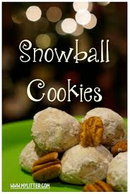 12 days of christmas cookies day 5 snowball cookies recipe
