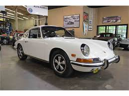 porsche 911 convertible white 1966 to 1968 porsche 911 for sale on classiccars com