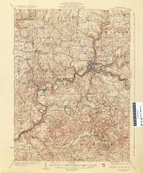 Map Of Lancaster Pa Pennsylvania Historical Topographic Maps Perry Castañeda Map