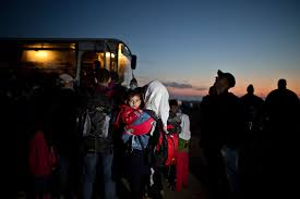 The Border Commuters The Outline by This Week In Pictures Sept 12 Sept 18 2015 Photos Abc News