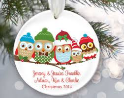 owl family etsy