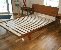 beautiful solid platform bed base loft solid wood king platform