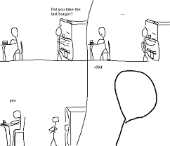 Funny Stick Figure Memes - punchline in content