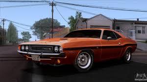 Dodge Challenger 1970 - dodge challenger 426 hemi js23 1970 imvehft for gta san andreas