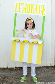 costume ideas for kids lemonade and ice cream stands by love the day