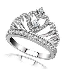 rings girl images Queen princess crown rings for women girl daughter she heart jpg