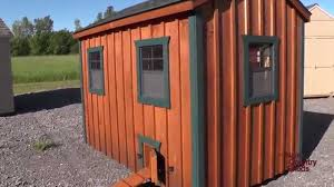 a frame style house 6 u0027 x 10 u0027 chicken coop a frame style holds 18 22 chickens youtube