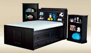 Full Beds With Storage Twin Captains Bed With Trundle Image Of Trundle Twin Bed Size