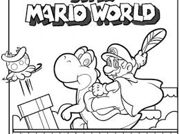 super mario bros coloring pages printable games free coloring