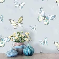holden amelia butterfly pattern wallpaper glitter motif teal 98871 holden amelia butterfly pattern wallpaper butterflies motif glitter teal 98871