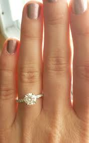 best 25 petite engagement ring ideas on pinterest small