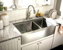 kitchen sink and faucet ideas extraordinary farmhouse stainless steel kitchen sink faucet ideas