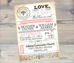 jar wedding invitations free jar wedding invitation printable templates meichu2017 me