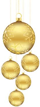 golden balls ornaments png picture gallery