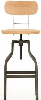 Modern Wood Bar Stool Clarence Wooden Bar Stool With Back Bar Stool Wooden