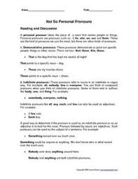 intensive pronouns lesson plans u0026 worksheets reviewed by teachers