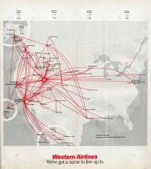 alaska air map alaska airlines 1980 route map travel alaska