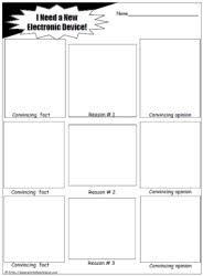 persuasive writing worksheetsworksheets