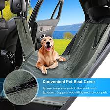 pet seat cover car seat covers for dogs with side flaps waterproof dog