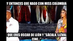 Colombia Meme - los mejores memes miss universo 2015 the best memes miss