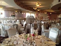 Ivory Spandex Chair Covers Riverside Hotel Wedding Decor Crystal Globe Centerpieces Silver