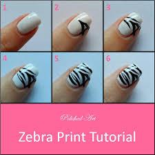 purple leopard and zebra print glittery tips design nail art