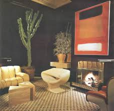 Eclectic Living Room Decorating Ideas Pictures Eclectic Living 70s Style Billy Gaylord Architectural Digest