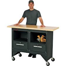 Woodworking Bench Top Surface by Torin Big Red 54in Mobile Workbench With Hardwood Top U2014 Model
