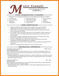 Event Coordinator Assistant Resume Event Planner Resume Example by Event Planning Resumes Planner Resume Event Planner Free Resume