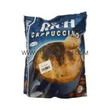 cuisine cappuccino กาแฟร ช คาป ช โน rich cappuccino 3 in 1 ของใช พม าคร มทานาคาพม า