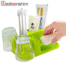 balleenshiny household bathroom storage rack multiduty plastic
