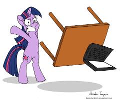 Flip Desk Meme - twilight flipping computer desk by sketchinetch on deviantart