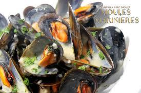 comment cuisiner des moules surgel馥s moules marinières à la crème sans vin blanc recettes faciles
