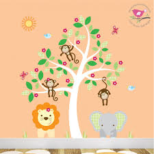 jungle wall stickers for baby nursery room previous