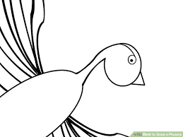 draw phoenix 8 steps pictures wikihow