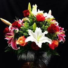 Bouquet Of Lilies Roses U0026 Lilies Flower Bouquet In Moreno Valley Ca Garden Of