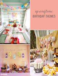 birthday themes for 14 springtime birthday party themes for